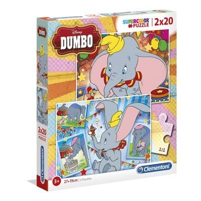 Puzzle Super 2x20 Dumbo