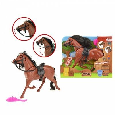 Cavalo com Som e Escova