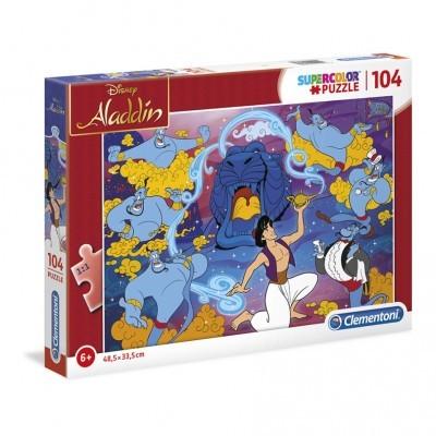 Puzzle Super 104 Pçs Aladino