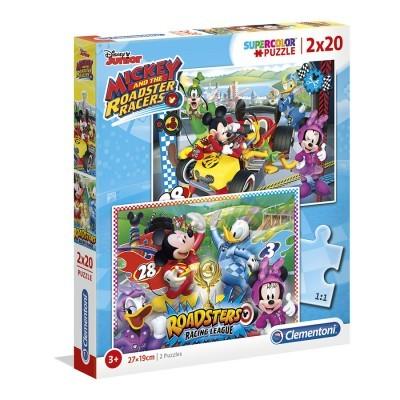 Puzzle Super 2x20 Mickey