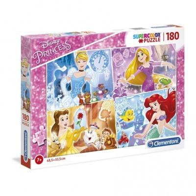 Puzzle Super 180 Pçs Princess