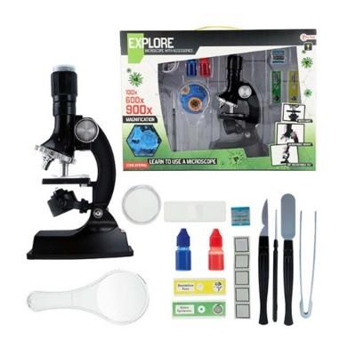 Conj. Ciências com microscópio