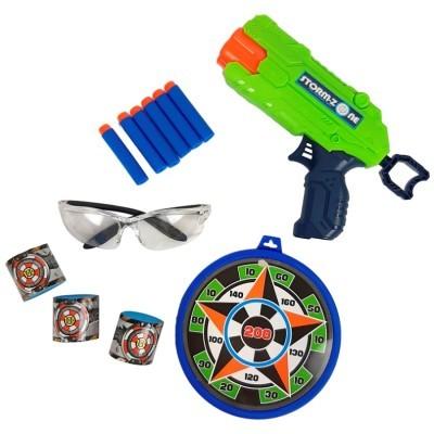 Stormzone Conj. Pistola, Óculos e Alvo