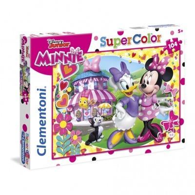 Puzzle Super 104 Pçs Minnie
