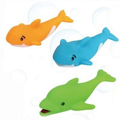 Blister Golfinho + Baleias Para Banho