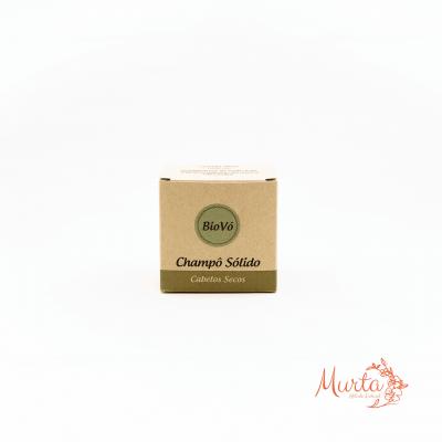 Champô Sólido Artesanal de Manteiga de Cacau
