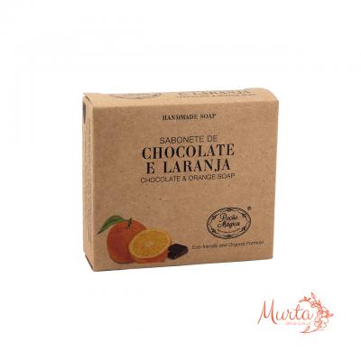 Sabonete de Chocolate e Laranja