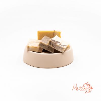 Conjunto de Mini Sabonetes Naturais e Artesanais