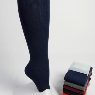 Meia até ao joelho em algodão