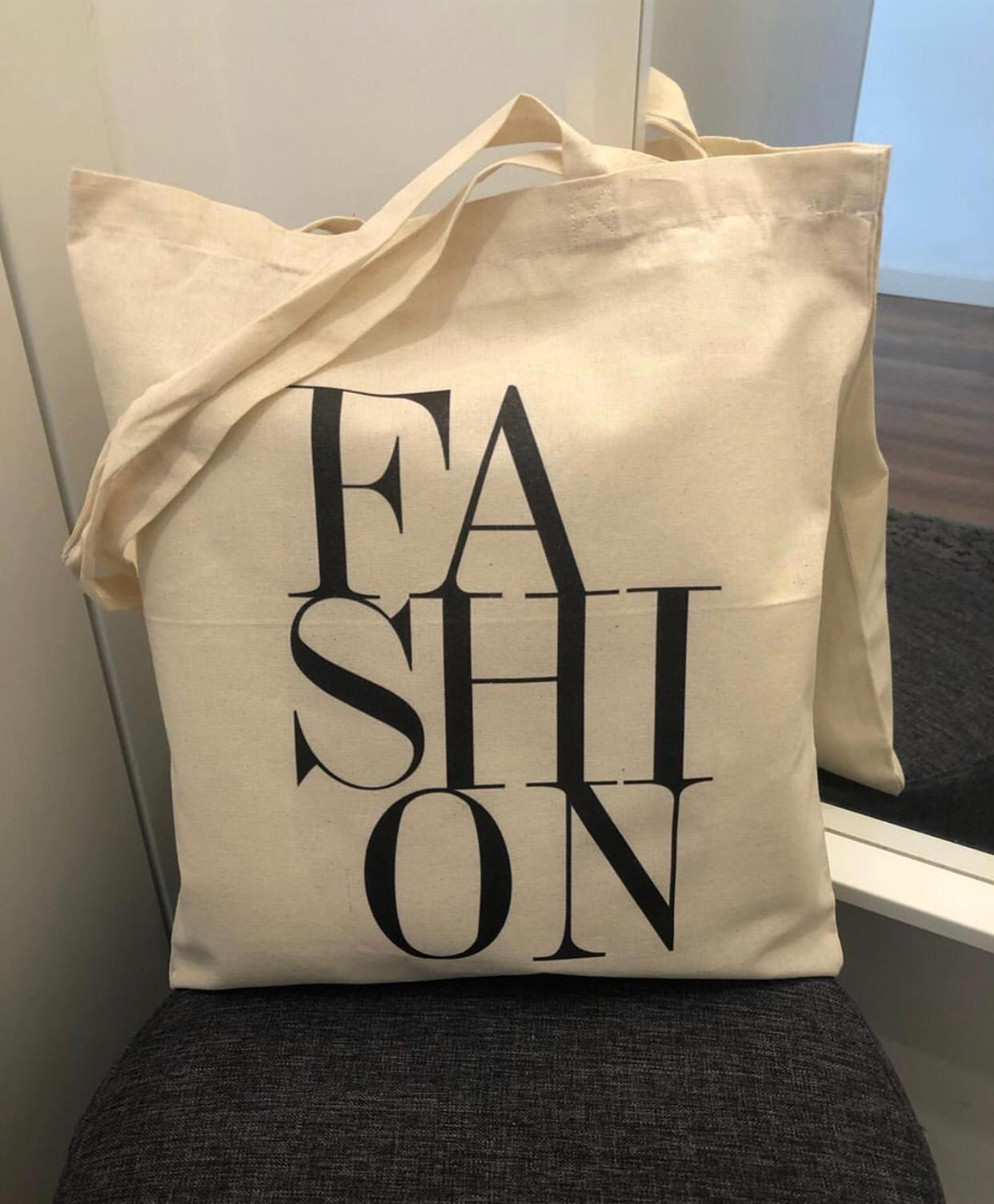 "Tote Bag ""FASHION"""