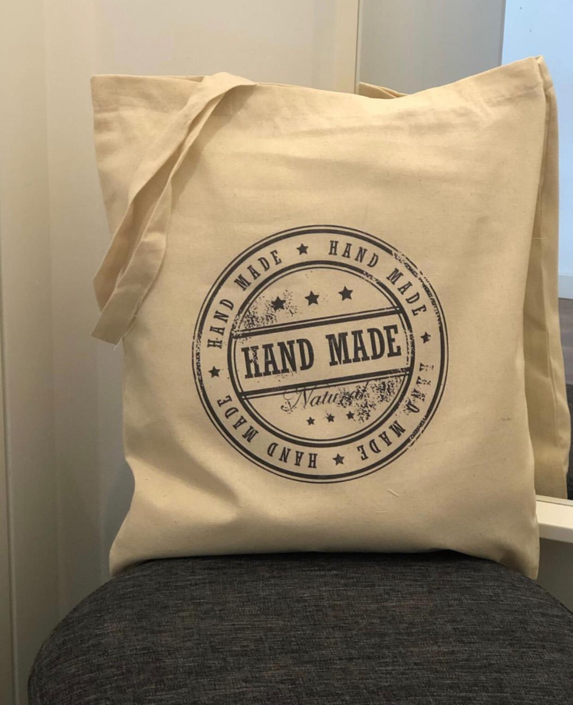 "Tote Bag ""HandMade"""
