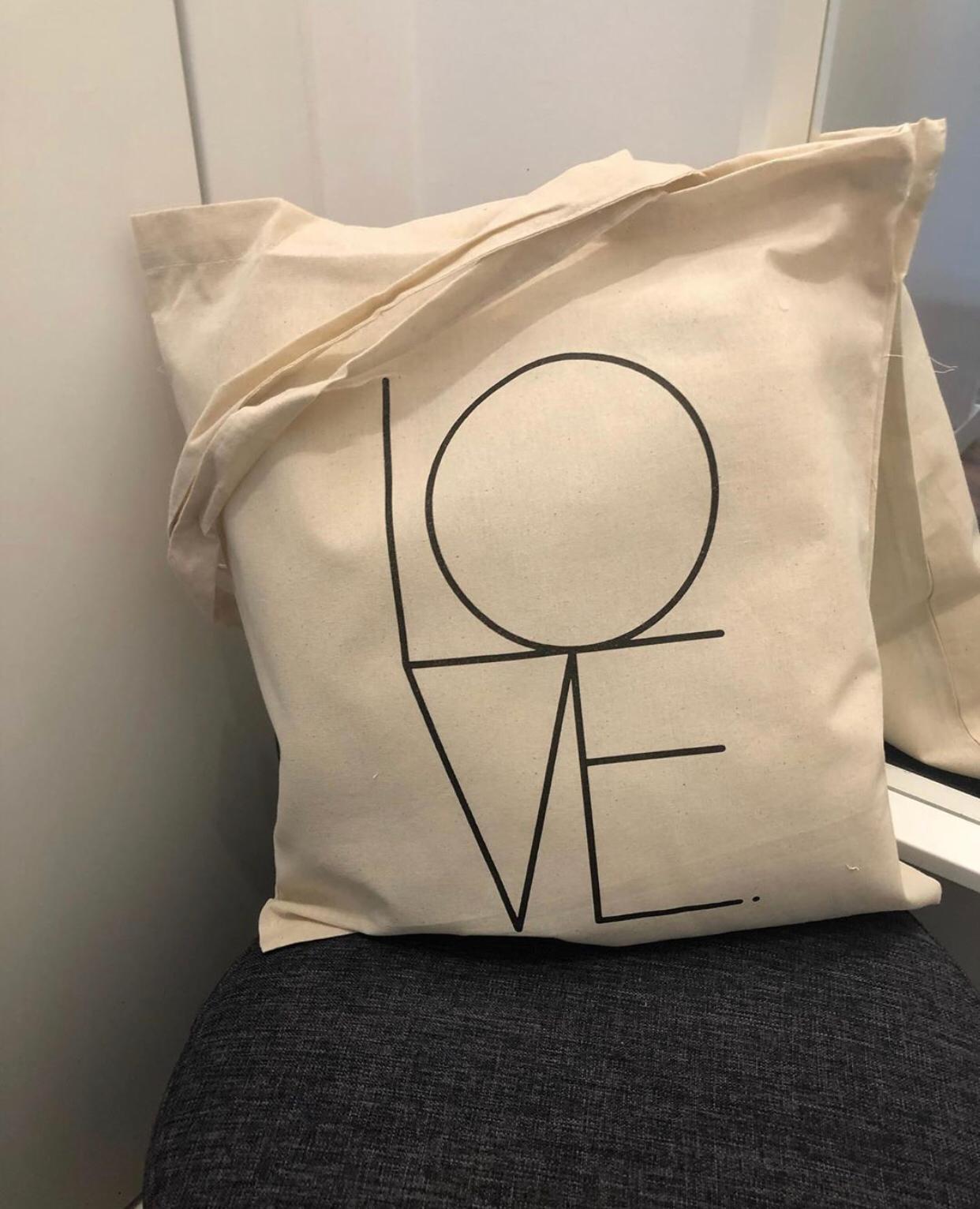 """Tote Bag """"LOVE"""""""