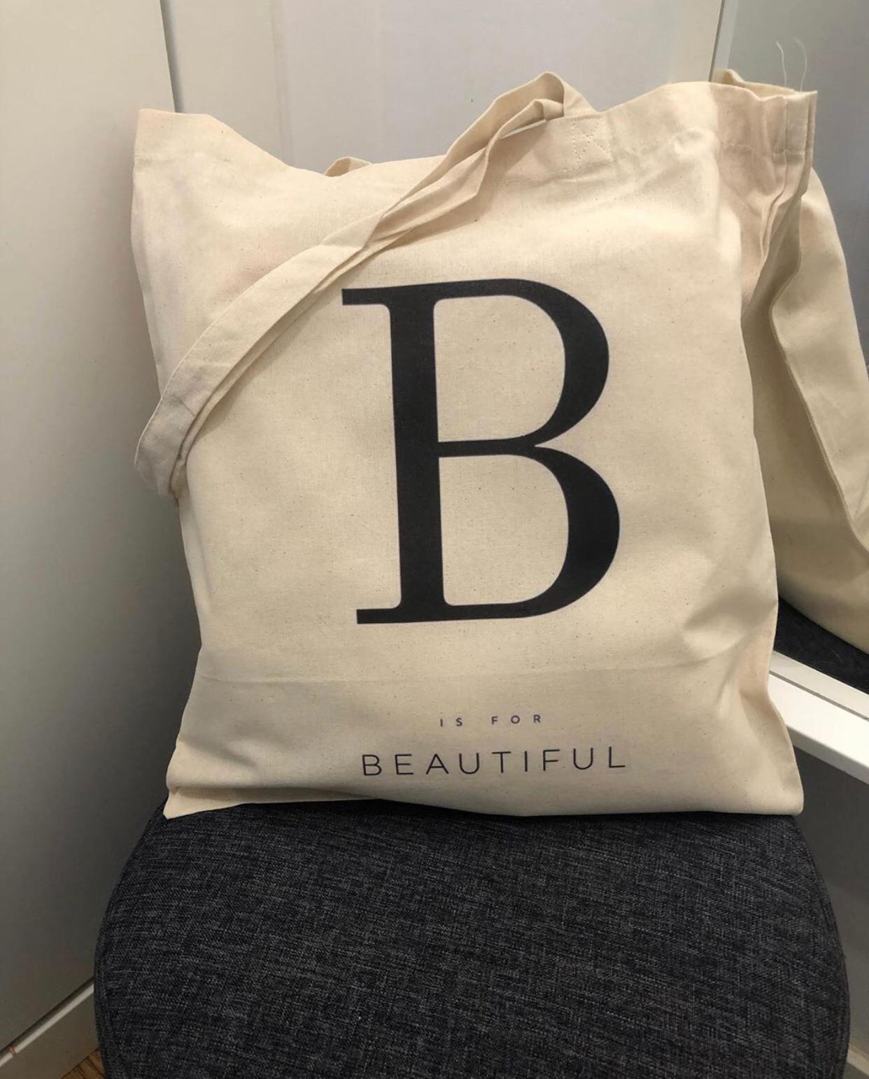 """Tote Bag """"Beautiful"""""""