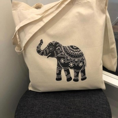 "Tote Bag ""Elefante"""
