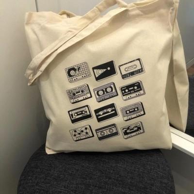 "Tote Bag ""Cassetes"""