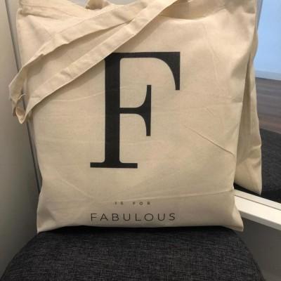 """Tote Bag """"Fabulous"""""""