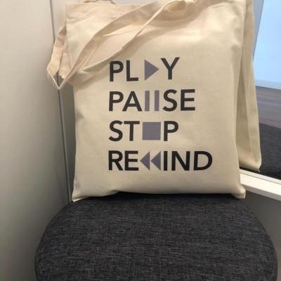 """Tote Bag """"PLAY"""""""