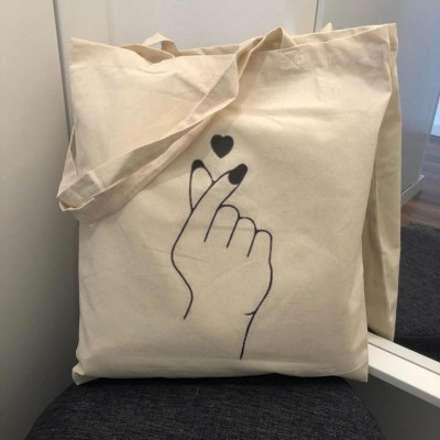 "Tote Bag ""Hand"""