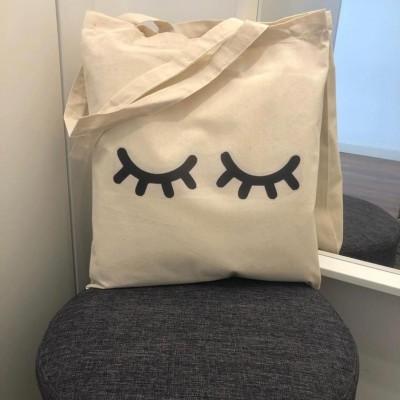"Tote Bag ""Eyelash"""