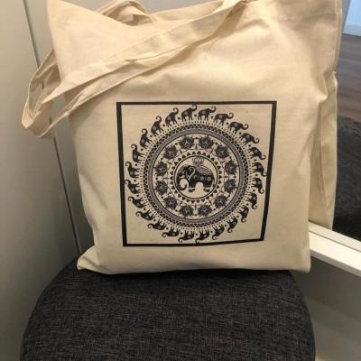 "Tote Bag ""Elefante Mandala"""