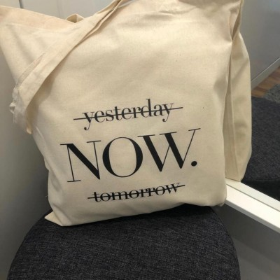 "Tote Bag ""Now"""