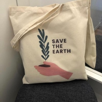 "Tote Bag ""Save The Earth"""