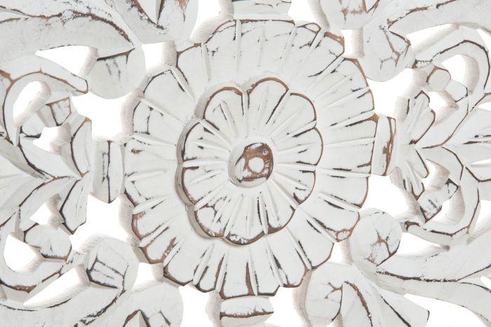 Cabeceira Cama Mandala Decapé Branco 160 X 80