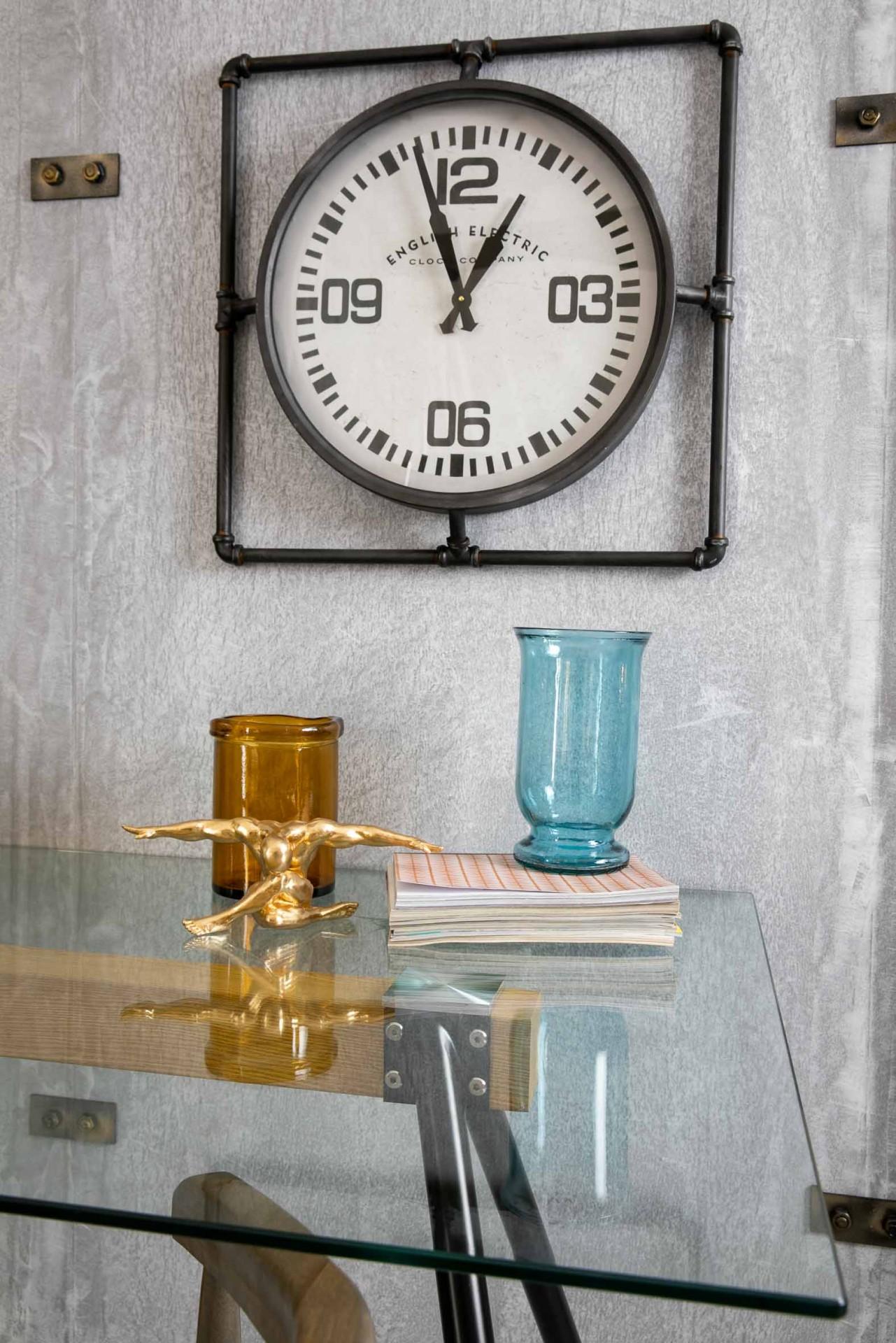 Mesa Jantar ou Secretária Tampo Vidro Temperado Pernas Aço Preto 160 X 90