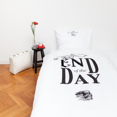 "Bed-linen ""End of the day"""