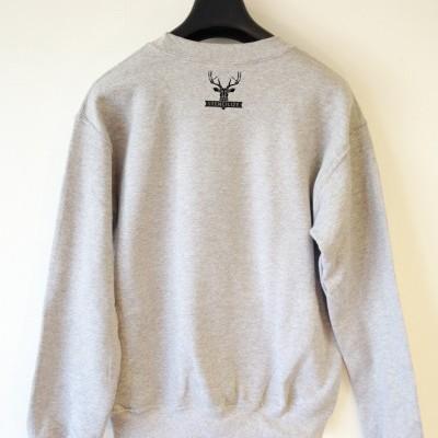Geometric deer sweater