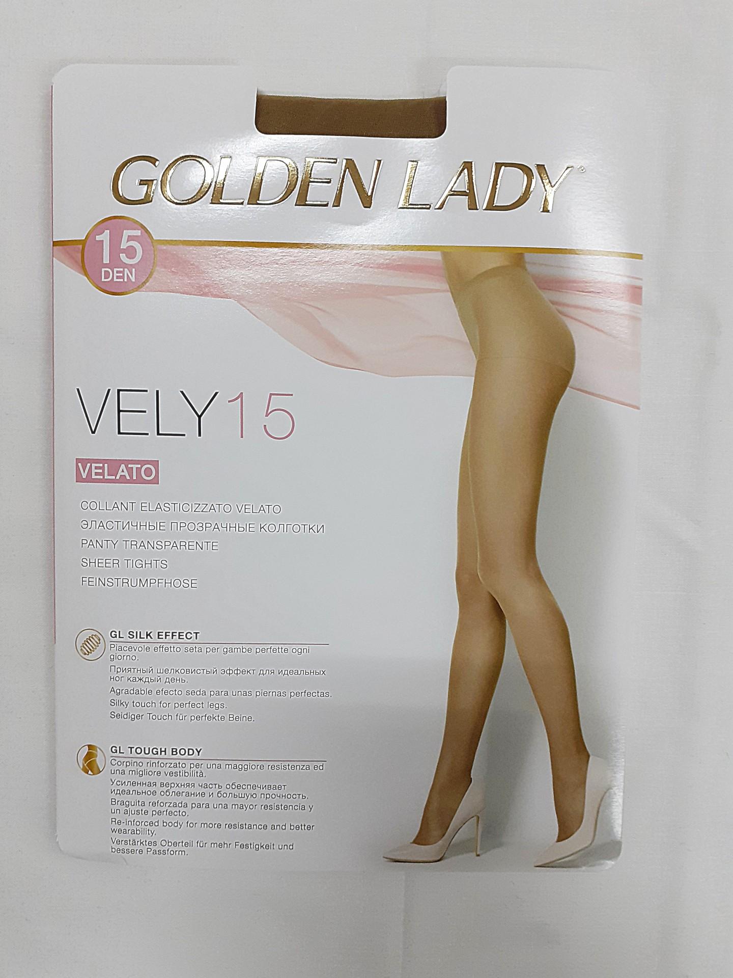Collant Lycra Golden Lady