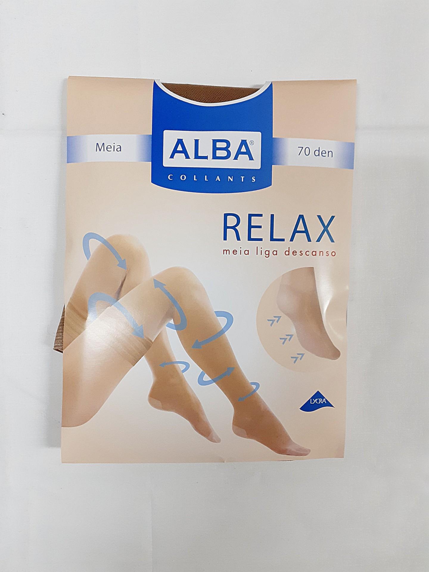 Meia Relax 70 Alba