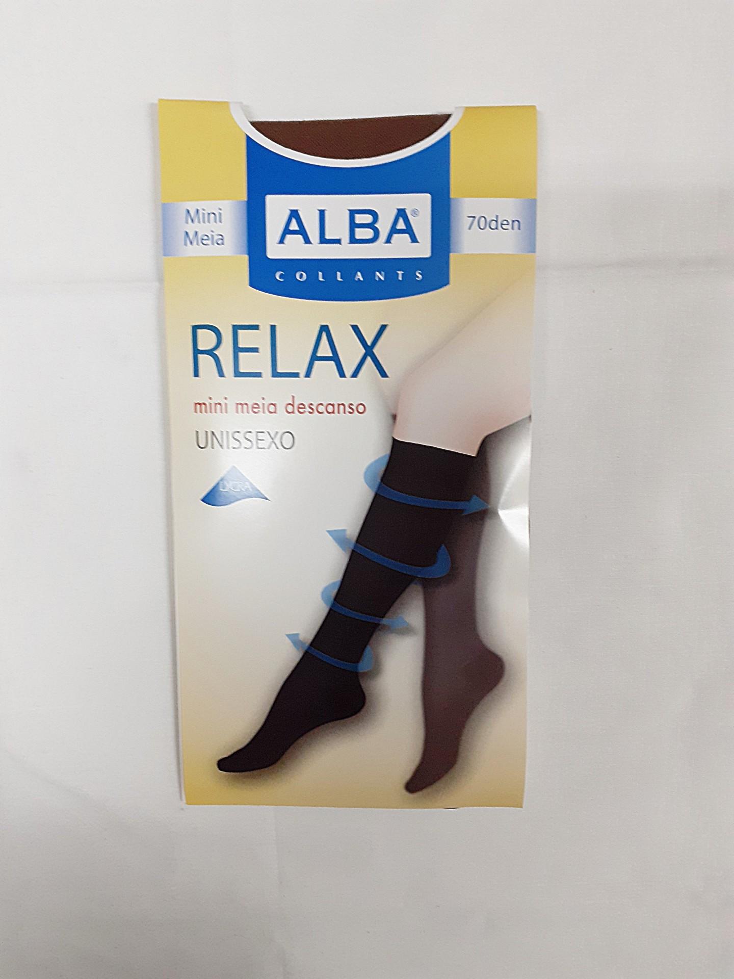 Mini Meia Relax 70 Alba