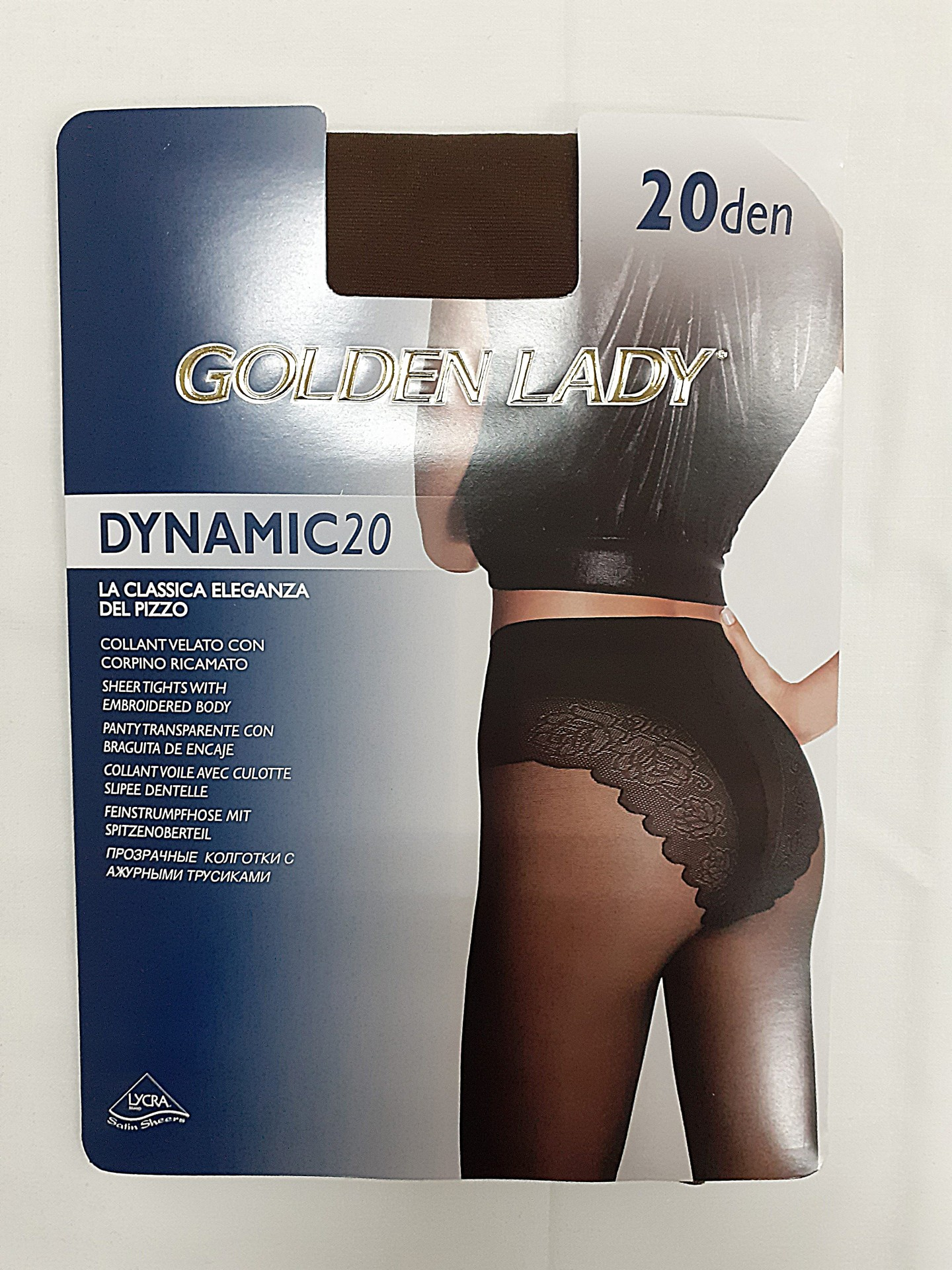Collant Dynamic 20 Golden Lady