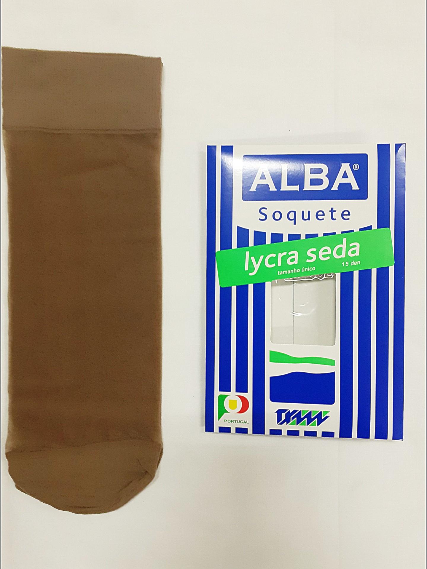 Soquete Seda Alba