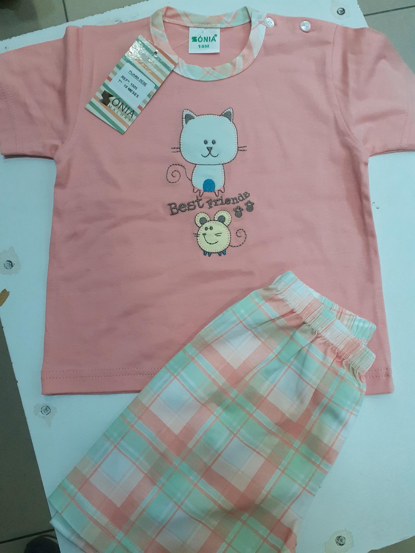 Pijama Bebé M/Manga
