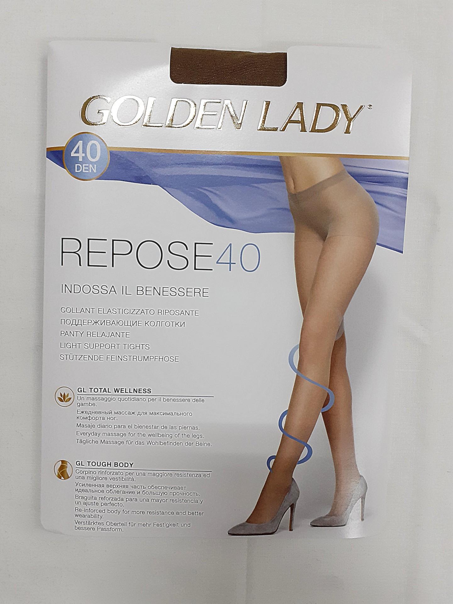 Collant Repose 40 Golden Lady