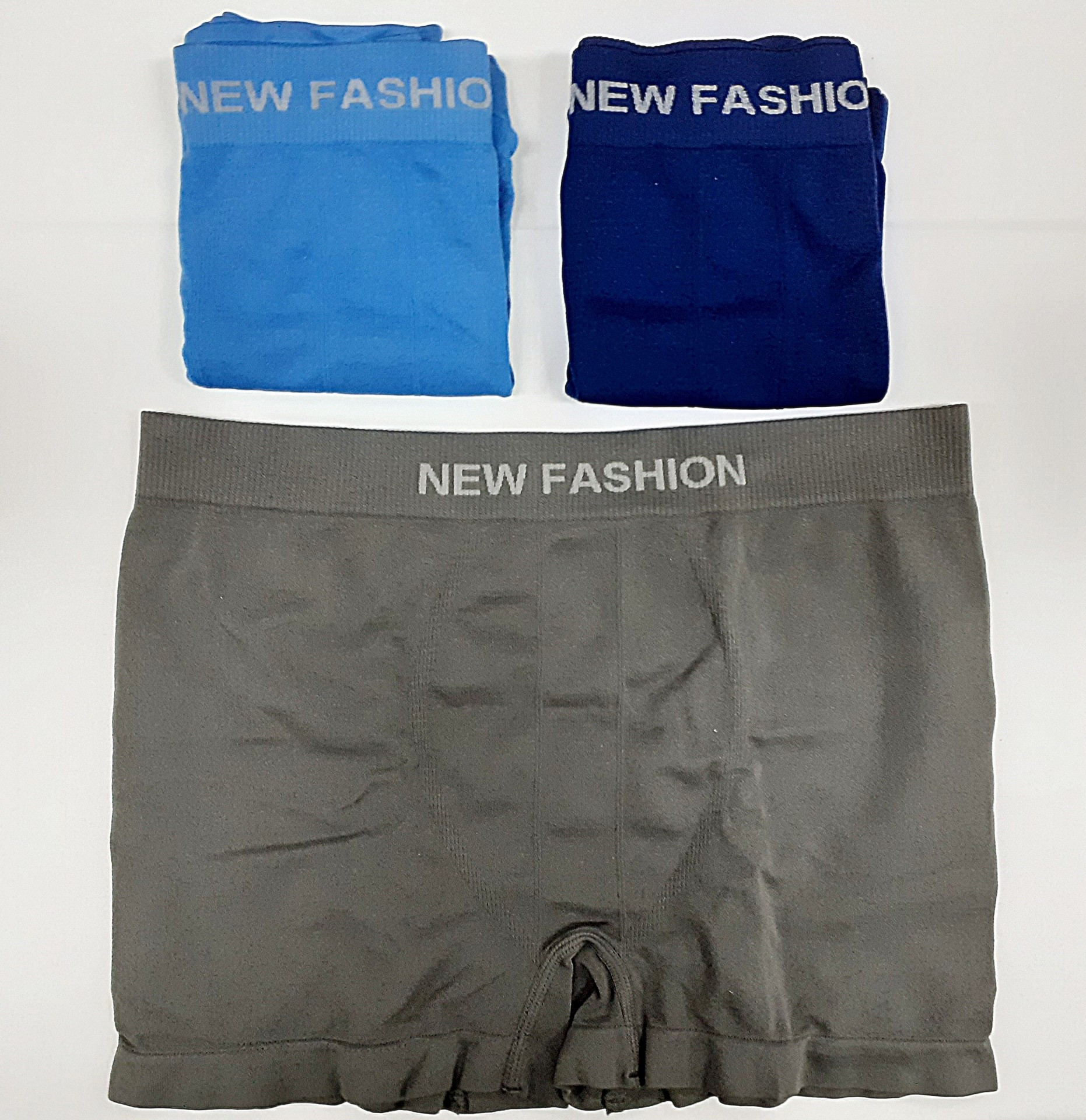 Boxer Homem S/Costuras New Fashion