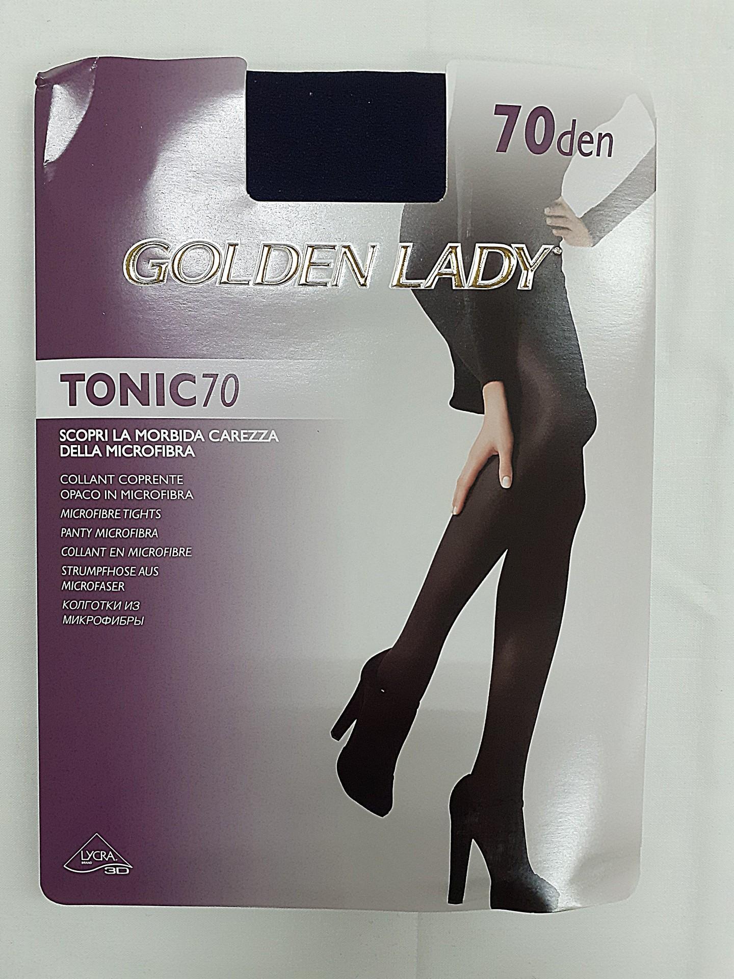 Collant Tonic 70 Golden Lady