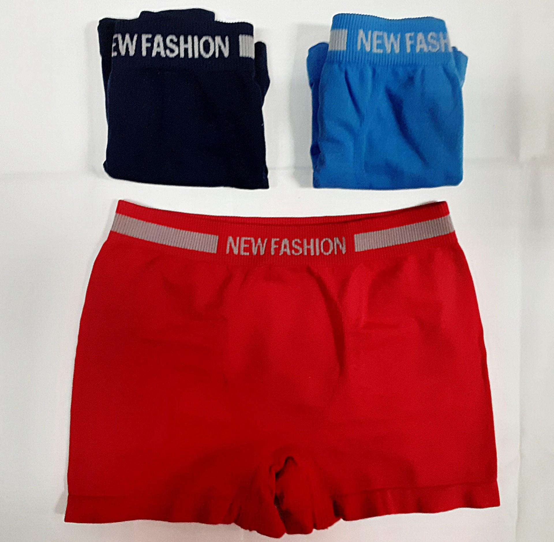 Boxer Criança S/Costuras New Fashion