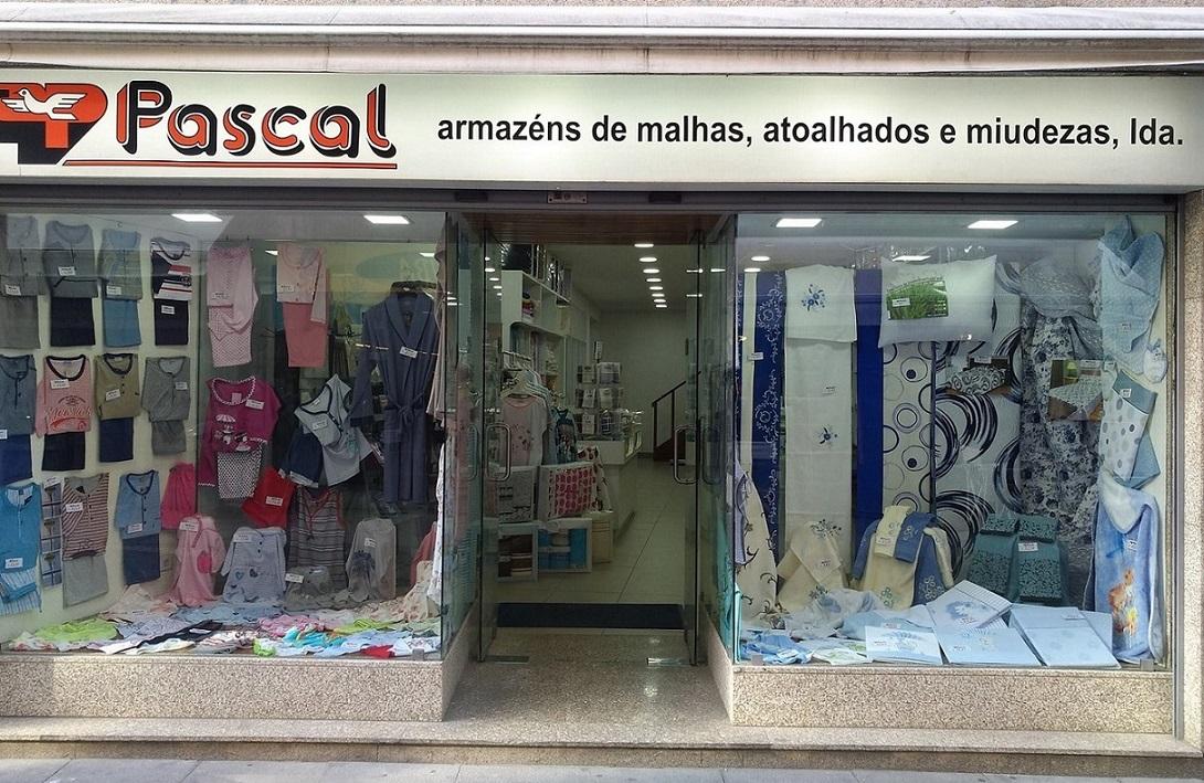 Pascal  Armazéns de Malhas, Atoalhados e Miudezas, Lda