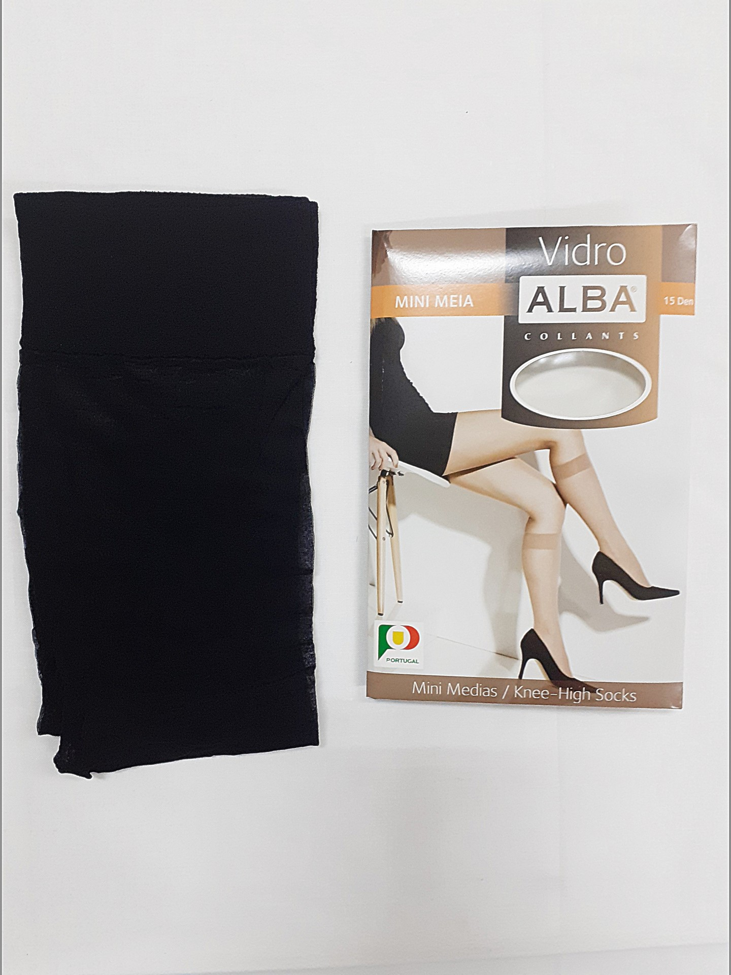 Mini Meia Vidro Alba