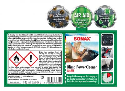 Higienizador probiótico SONAX®