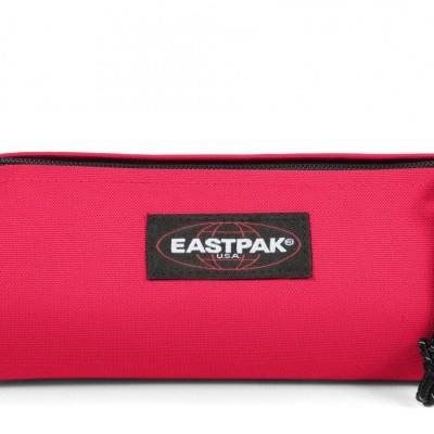 Estojo Eastpak Benchmark Single  Hibiscus Pink