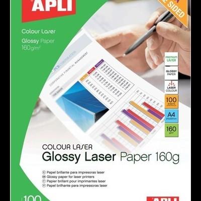 Papel brilhante para impressora a laser