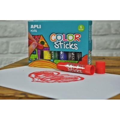 Lápis de cera Apli Kids