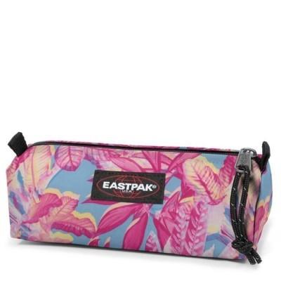 Estojo Eastpak Benchmark Single Pink Jungle