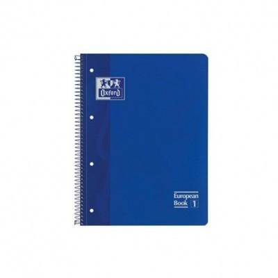 Caderno Pautado Oxford European 1  A4 azul