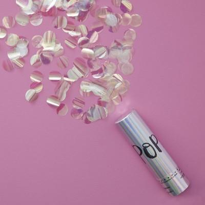 Canhão Confettis Iridescente