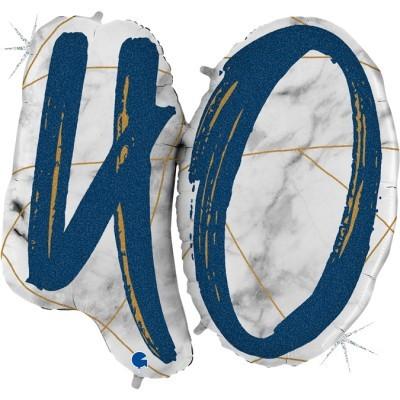 Balão Número 40 Azul